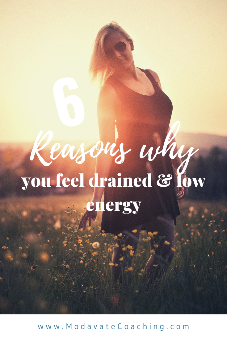 Why you feel so drained and low energy